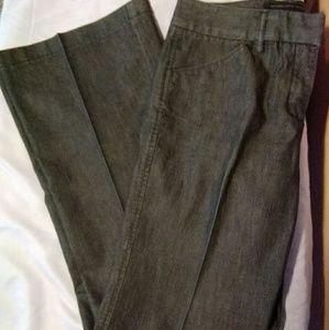 Express Design Studio Gray Bootcut Jeans